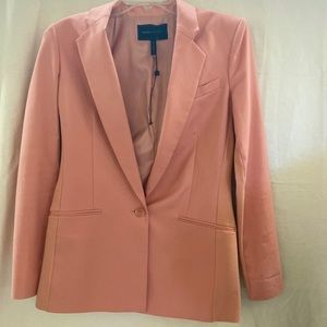 LIKE NEW~ BCBG MAXAZRIA PEACH PINK BLAZER~ SIZES:S